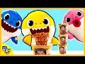 Baby Shark Eats Pororo Black Noodles Secretly! Mommy shark and Daddy shark do not know! | WeToy