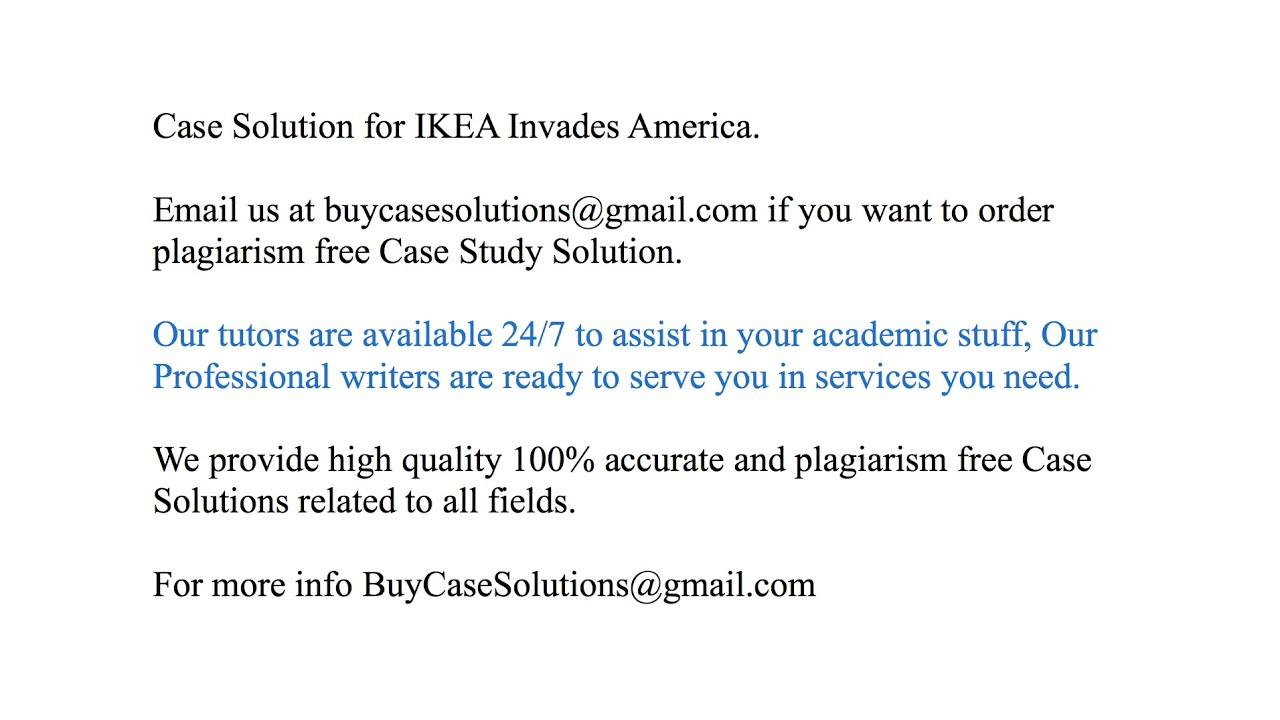 case study ikea invades america