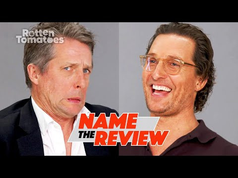 """The Gentlemen's Matthew McConaughey & Hugh Grant Play """"Name the Review"""" 