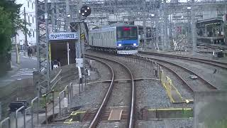 東武アーバンパークライン(野田線)川間駅~大宮駅 前面車窓 2019年10月17日