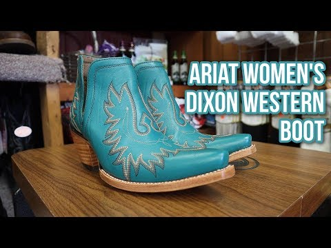 Dixon Women's Western Boots From Ariat!