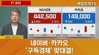 [IT 수다] 네이버·카카오, '구독경제' 맞대결 - …
