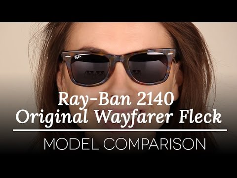 aa4eb8f8f7e Ray-Ban 2140 Original Wayfarer Fleck- Ray-Ban Sunglasses Model Review