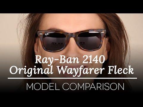 ray ban fleck wayfarer