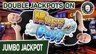 2️⃣ X MASSIVE JACKPOTS Playing Lock It Link Huff N' Puff Slots 🐷 Jealous?