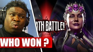 Black Canary VS Sindel (DC Comics VS Mortal Kombat) | DEATH BATTLE! - REACTION
