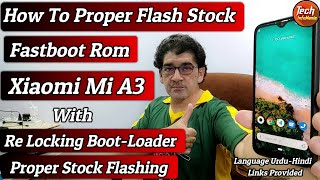 Xiaomi Mi A3 Flash Fastboot Stock Android 10 Rom