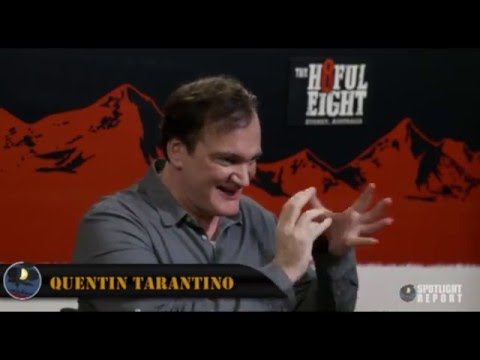 Interview: Quentin Tarantino Talks Potential Western Trilogy