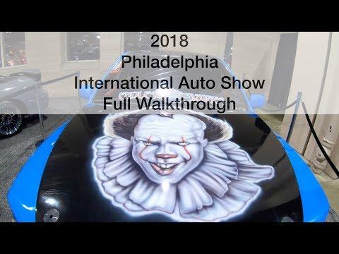 Philadelphia International Auto Show Full HD Walkthrough 2018