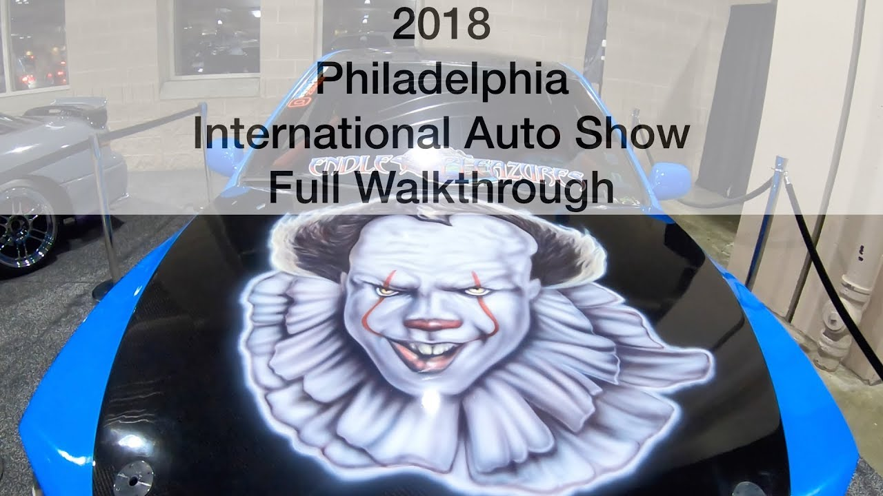 Philadelphia International Auto Show Full HD Walkthrough YouTube - Philadelphia international car show