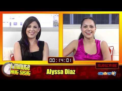 1 Minute Hot Seat  Alyssa Diaz In The Hot Seat