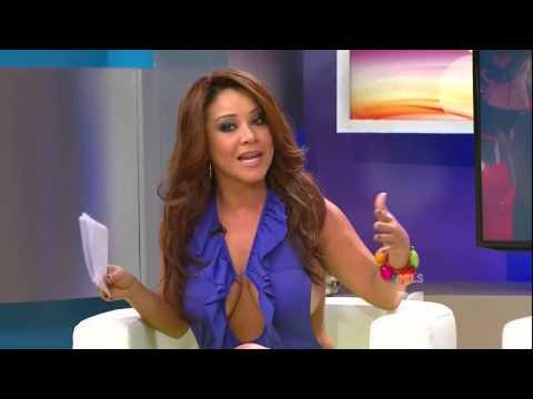 Carolina Sandoval cleavage & big tits hanging out (12-30-13) thumbnail