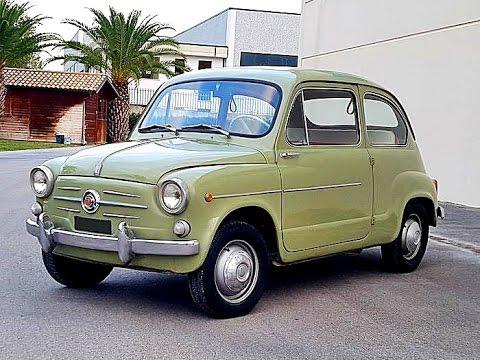 Fiat 600 D, model year 1963