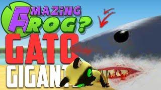 GATO GIGANTE! - Amazing Frog streaming