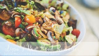Recipe: Spicy Marinated Mushroom Salad