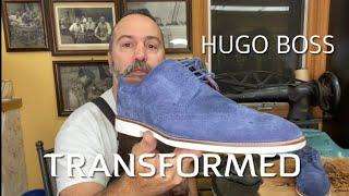 Hugo Boss Transformed into a solid shoes. screenshot 3