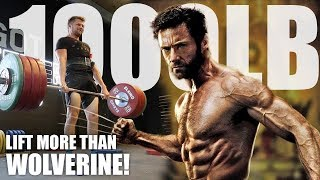 The 1000lb Club Challenge - Taking On Wolverine!