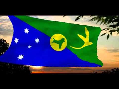Christmas Island anthem & flag & coat of arms accordion music played by Jan Oravec - YouTube