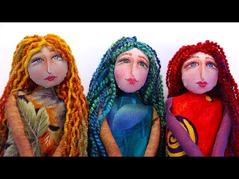 PREVIEW: How to Create a Cloth Doll - with Barb Owen - HTGC Member Class s02e06
