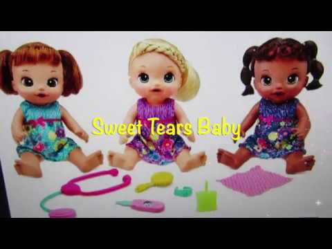 New Baby Alive Dolls 2017 Sweet Tears Baby Alive Doll