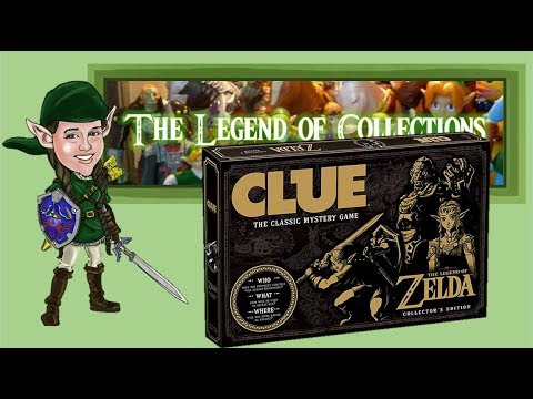 Unboxing USAopoly The Legend of Zelda Clue | The Legend of Collections!