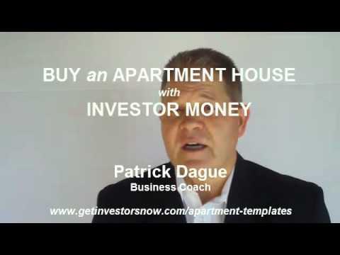 Raise Investor Money to Buy Apartment Buildings (www.InvestorsForMyBusiness.com)