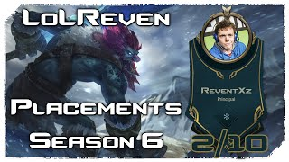 [2/10] PLACEMENTS SEASON 6 - TRUNDLE TOP vs MINIDUKE