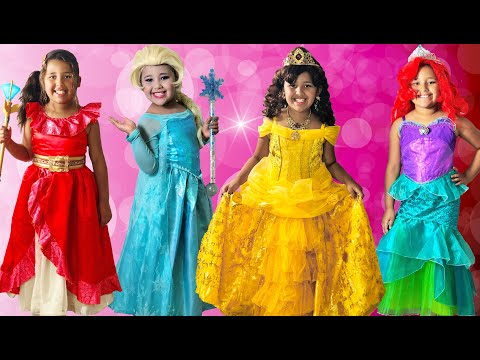 16 Halloween Costumes Disney Princess Anna Queen Elsa Kids Costume Runway Show