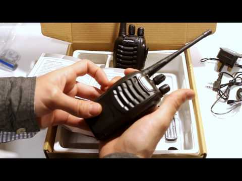 Baofeng Walkie Talkie Review - Safety Warning and Test