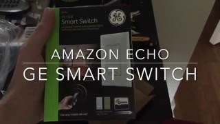 Amazon Alexa and GE Smart Switch Fan Conrol (SmartThings)