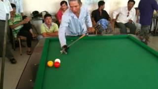 Carom Billiards straight rail bida Chu 10 Vs Chu 4 - Ken 291 points
