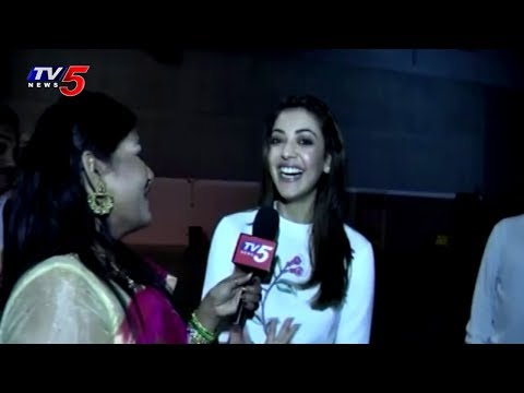 Kajal Agarwal Feels Excited at TANA 21st Convention Celebrations | St.Louis|  USA | TV5 News