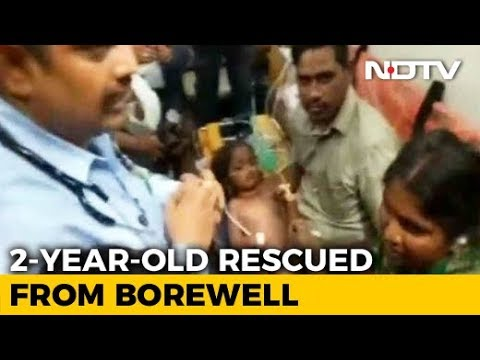 2-Year-Old Boy Who Fell Into Borewell Rescued After 11 Hours