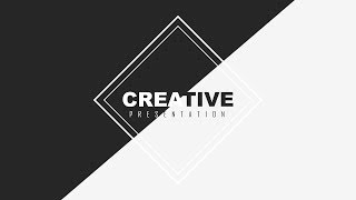 Black and White Creative Slide Design - PowerPoint Tutorial