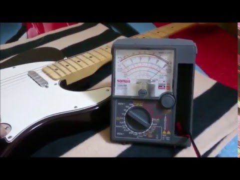 How The Volume Pot And Coil DCR Affect The Output Resistance Of Your Guitar