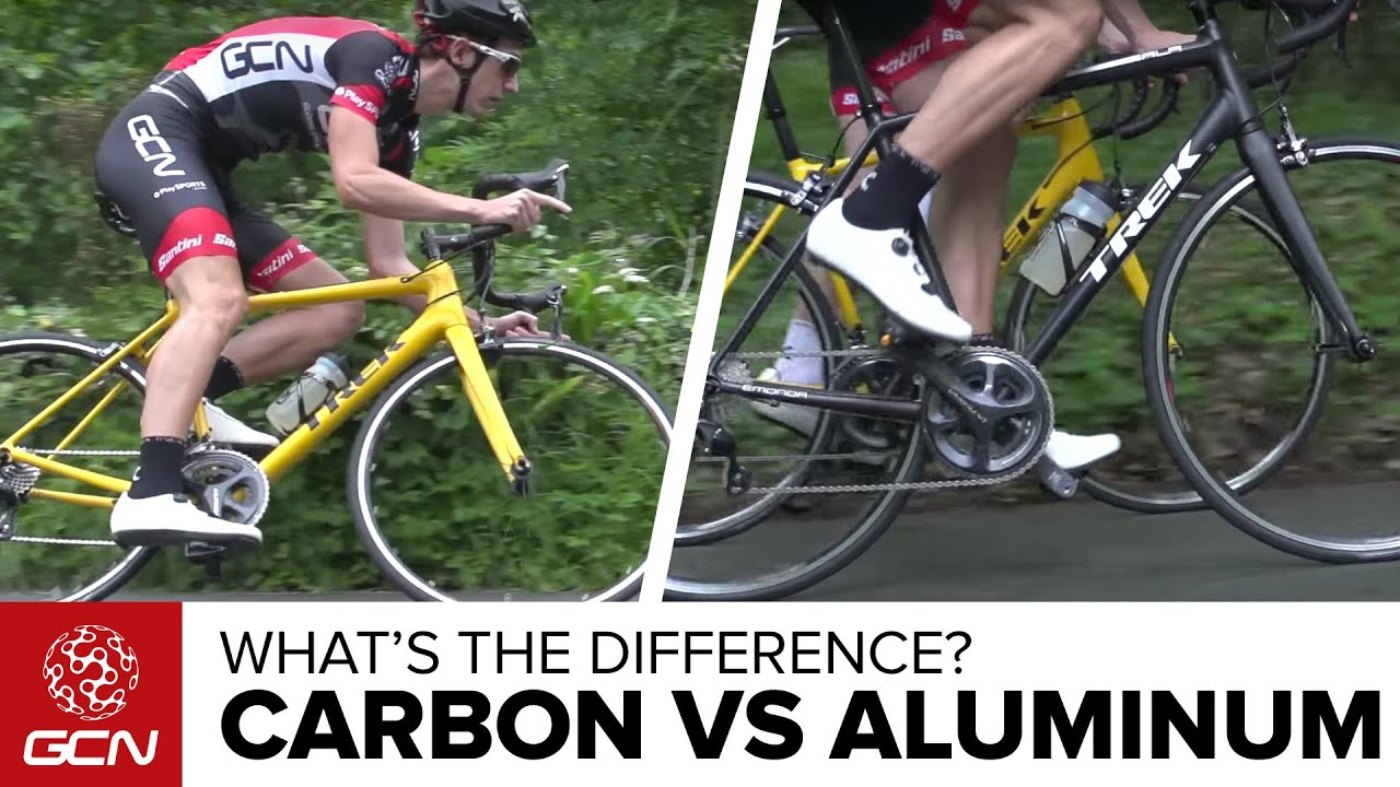 Carbon Vs Aluminium Bikes What S The Difference On The