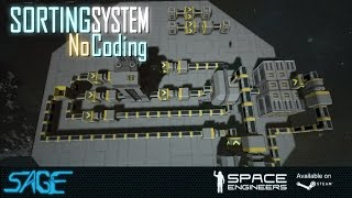 Space Engineers, Automated Sorting, Refining, System (Update 01.073)