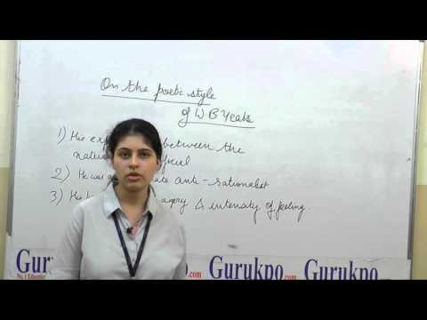 On the poetic style of W.B Yeats by Ms. Abeer Mathur, Assistant Professor, Biyani Girls College
