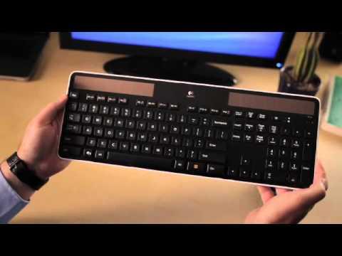 Logitech Wireless Solar Keyboard K750 - YouTube 852b8531eaf33