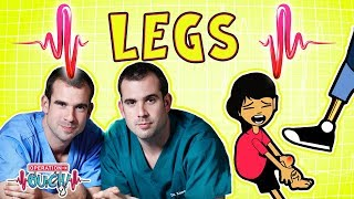 Operation Ouch - Lively Legs | The Skeletal System