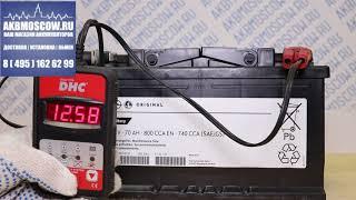Видео обзор аккумулятора GM 70 А/ч (95519152)