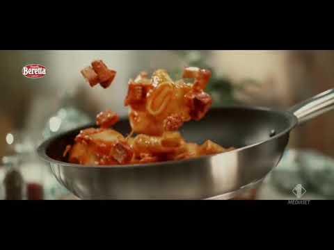Cubetti pancetta Beretta pubblicità spot 2020
