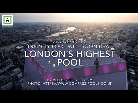 Dana McKenzie - 360 degrees Infinity London pool will be London´s highest pool