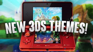 Nintendo 3DS Home Screen Themes!