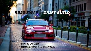 RB25 SWAP 240Sx [ Build Thread ] ||FUGEN TV|| NISSAN 240SX RB25
