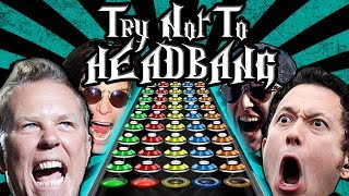 Video TRY NOT TO HEADBANG (GUITAR HERO EDITION) download MP3, 3GP, MP4, WEBM, AVI, FLV Oktober 2018