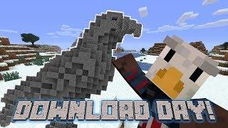 Eagle Gaming | Minecraft PC Let's Play S2 E10: EAGLE STATUE BUILD (Download Day)