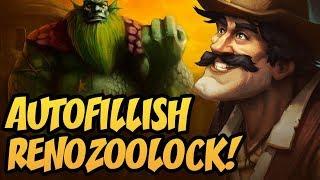 Autofillish Renozoolock!   Saviors of Uldum   Hearthstone