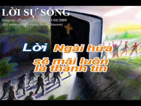 Loi su song KARAOKE bai hat TON VINH DUC CHUA TROI sang tac PHAM TUAN HUNG