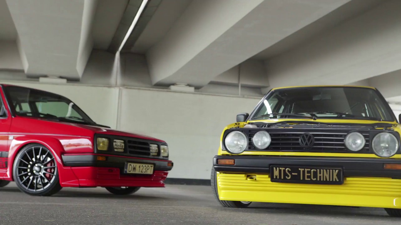 vw golf mk2 retroracers attack bbs vs kamei bodykit mts. Black Bedroom Furniture Sets. Home Design Ideas